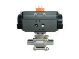 Actuated Sanitary Ball Valve